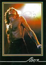 AC/DC Bon Scott Signed Autographed 8x11 Photograph RARE PSA/DNA