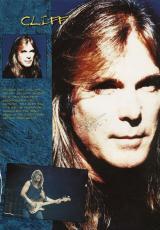 AC/DC Cliff Williams Signed Autographed 9x12 Concert Program Page PSA/DNA