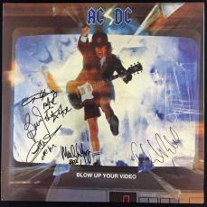 AC/DC Signed Autographed Blow Up Your Radio Album 5 Sigs PSA/DNA