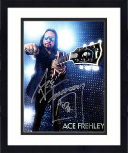 Ace Frehley Gibson Promo Autographed Signed 8x10 Photo UACC RD COA AFTAL