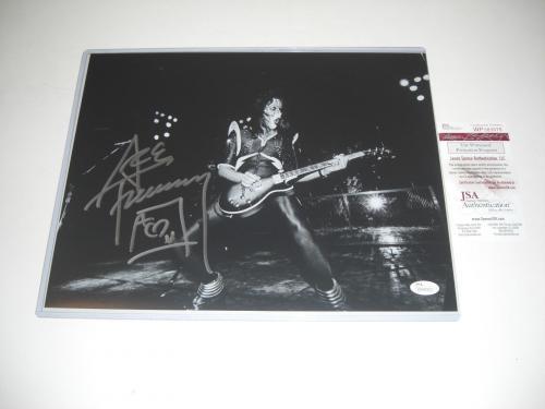 Ace Frehley Kiss Famous Rock Star #2 Jsa/coa Signed 11x14 Photo