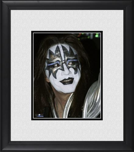 """Ace Frehley Kiss Framed 8"""" x 10"""" Smiling Photograph"""
