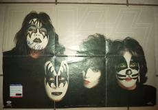"Ace Frehley ""kiss"" Music Legend Psa/dna Coa Signed Autographed 32x22 Poster Rare"