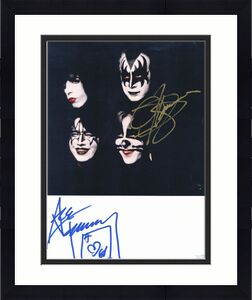 Ace Frehley Kiss Performer Signed/Autographed 8x10 Photo JSA 159945