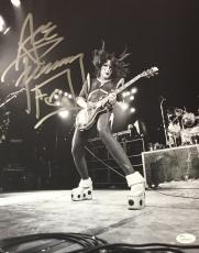 Ace Frehley KISS Signed Autographed 11x14 Photo JSA Authenticated 7