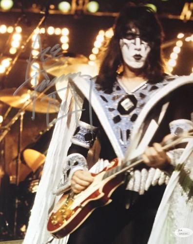 Ace Frehley KISS Signed Autographed 11x14 Photo JSA Authenticated 9