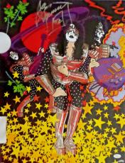 Ace Frehley KISS Signed Autographed 17x22 Poster JSA Authenticated.