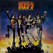 Ace Frehley KISS Signed Autographed Destroyer Vinyl Record JSA Authenticated