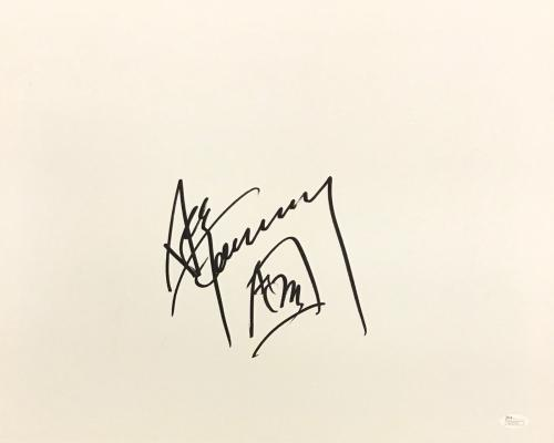 Ace Frehley KISS Space Man Autograph Signed 16x20 Canvas R23979