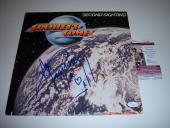 Ace Frehley Kiss,frehleys Comet Second Sighting Jsa/coa Signed Lp Record Album