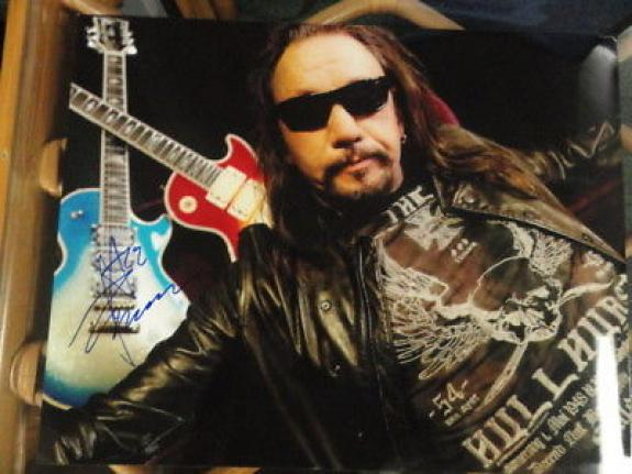 Ace Frehley Signed 11x14 Photo Kiss Anomaly Legend Rare