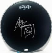 """ACE FREHLEY Signed Autographed Drumhead """"KISS"""" JSA #L23659"""