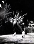 """ACE FREHLEY Signed Autographed """"KISS"""" 11x14 Photo BECKETT BAS #D39006"""