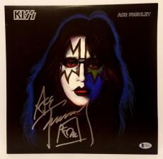 ACE FREHLEY Signed Autographed KISS Album LP Beckett BAS #C83623