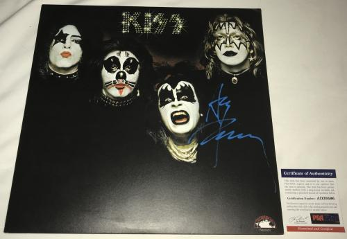 Ace Frehley Signed   Autographed KISS Album   LP - PSA DNA Certified