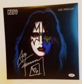 ACE FREHLEY Signed Autographed KISS Album LP PSA/DNA #AD60061