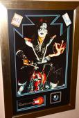 ACE FREHLEY signed autographed vintage 1977 CHOPPER KISS poster PSA DNA guitar