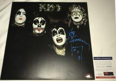 Ace Frehley Sketch Signed   Autographed KISS Album   LP - PSA DNA Certified