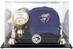 Toronto Blue Jays Acrylic Cap and Baseball Logo Display Case