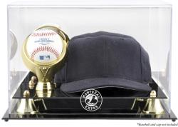 Montreal Expos Acrylic Cap & Ball Logo Display Case