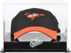 Baltimore Orioles Acrylic Cap Logo Display Case - Mounted Memories