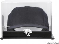 Jacksonville Jaguars Acrylic Cap Logo Display Case - - Mounted Memories