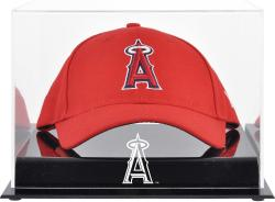Los Angeles Angels of Anaheim Acrylic Cap Logo Display Case - Mounted Memories