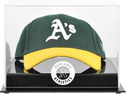 Oakland Athletics Acrylic Cap Logo Display Case - Mounted Memories