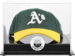 Oakland Athletics Acrylic Cap Logo Display Case