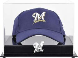 Milwaukee Brewers Acrylic Cap Logo Display Case - Mounted Memories