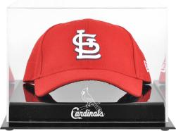 St. Louis Cardinals Acrylic Cap Logo Display Case - Mounted Memories