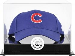 Chicago Cubs Acrylic Cap Logo Display Case - Mounted Memories