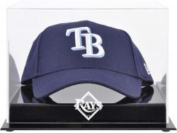 Tampa Bay Rays Acrylic Cap Logo Display Case - Mounted Memories