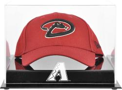 Arizona Diamondbacks 2007 Acrylic Cap Logo Case - Mounted Memories
