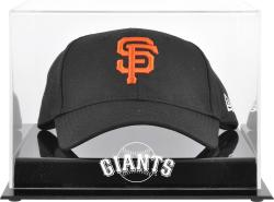 San Francisco Giants Acrylic Cap Logo Display Case - Mounted Memories