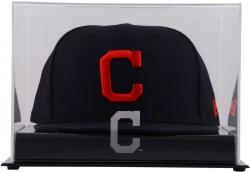 Cleveland Indians Acrylic Cap Logo Display Case - Mounted Memories