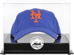 New York Mets Acrylic Cap Logo Display Case - Mounted Memories