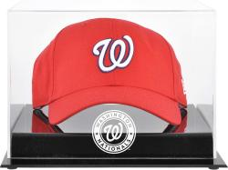 Washington Nationals Acrylic Cap Logo Display Case - Mounted Memories