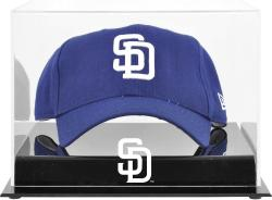 San Diego Padres Acrylic Cap Logo Display Case - Mounted Memories