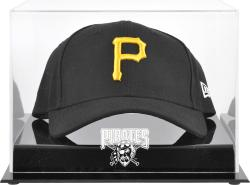 Pittsburgh Pirates Acrylic Cap Logo Display Case - Mounted Memories