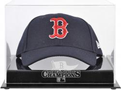 Boston Red Sox 2013 MLB World Series Champions Cap Display Case - Mounted Memories