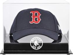 Boston Red Sox Acrylic Cap Logo Display Case - Mounted Memories