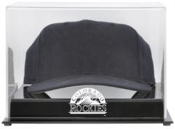 Colorado Rockies Acrylic Cap Logo Display Case - Mounted Memories