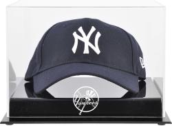 New York Yankees Acrylic Cap Logo Display Case - Mounted Memories