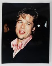 Meet Joe Black – Brad Pitt Signed 8×10 Photo – COA JSA