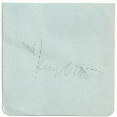 Broadway Open House Actor Jerry Lester (d.95) Signed Auto Vintage Album Page M7