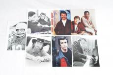 Actor Lot of Signed 8×10 Photos – 7 Incl. Bill Cosby, Henry Winkler, Chuck Norris etc.