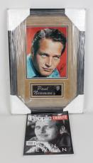 Actor – Paul Newman Signed 8×10 Photo Display w/People Magazine Feature – JSA