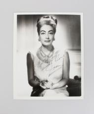 Actress – Joan Crawford Signed 8×10 Vintage Photo – JSA