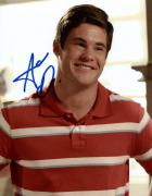 Adam Devine Autographed Workaholics Modern Family Photo UACC RD AFTAL RACC TS